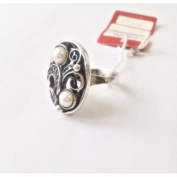Кольцо с жемчугом Анита
