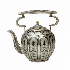 Чайники и супницы из серебра Кубачи