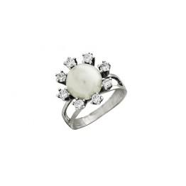 Кольцо с жемчугом Анитра