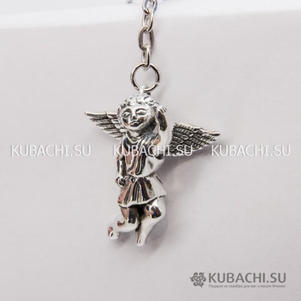 Серебряный брелок Ангел