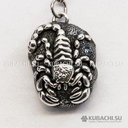 Брелок Скорпион на камне