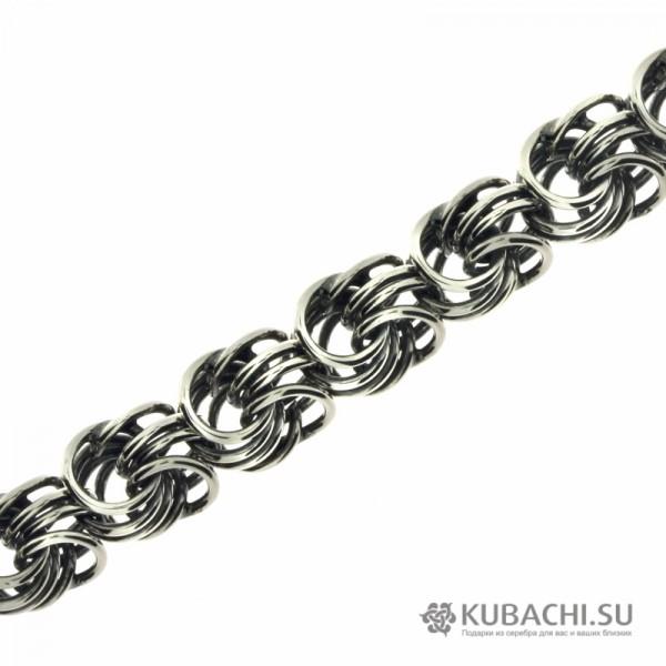 Серебряная цепочка Роза