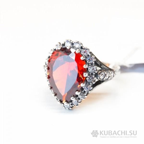 Кольцо с цирконом Аннитра