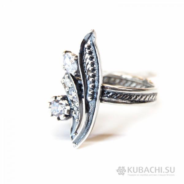 Кольцо с цирконом Аннита