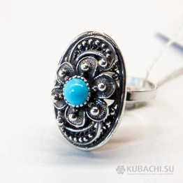 Кольцо с бирюзой Анджи