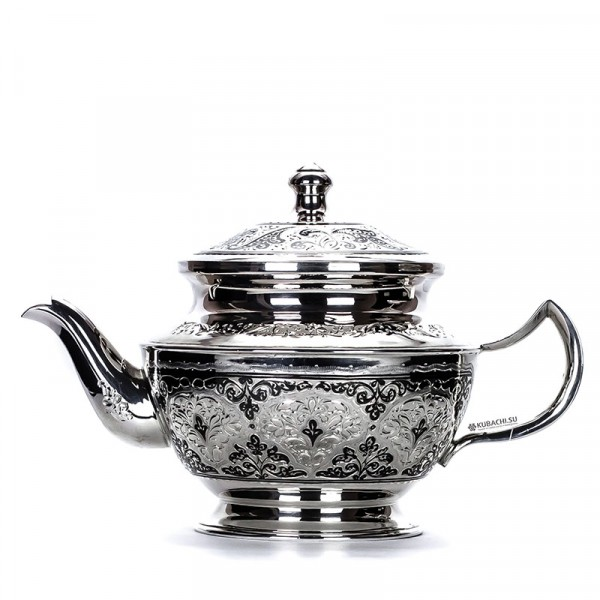Серебряный чайник Элиза Кубачи