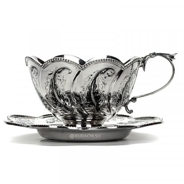 Серебряная чайная пара Вдохновение