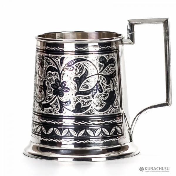 Серебряная пивная кружка Августа