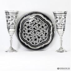Подарки на свадьбу из серебра