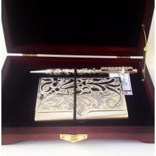 Подарочный набор Кацуэ: визитница и ручка