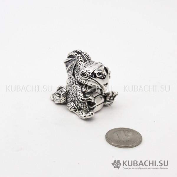 Серебряная Статуэтка Дракоша