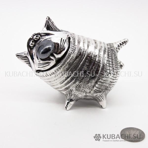 Серебряная Статуэтка Кот