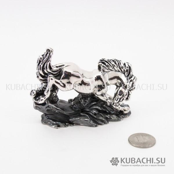 Серебряная Статуэтка Конь средний