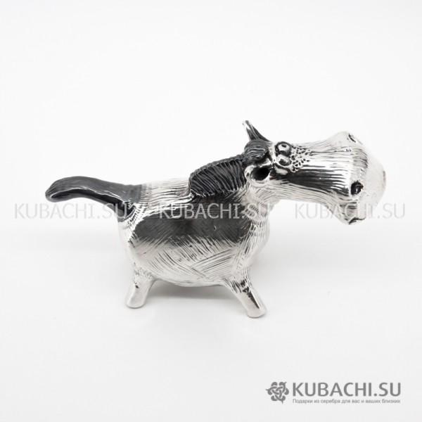 Серебряная Статуэтка Конь Нанока