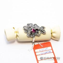 Кольцо Аленький цветочек Кубачи