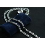 Виды плетения мужских серебряных цепочек